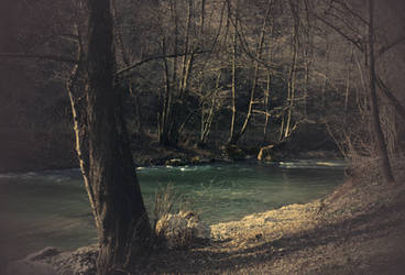 Gradac river waiting for spring by VesnaRa014