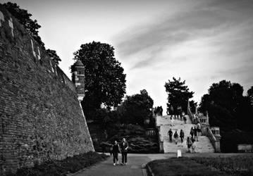 Kalemegdan - an old fortress in Belgrade by VesnaRa014