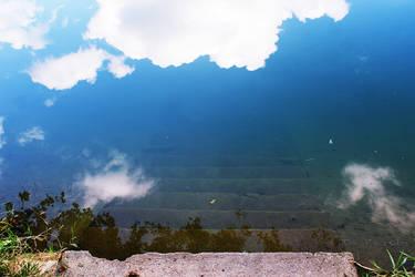Up down ... Water like a mirror by VesnaRa014