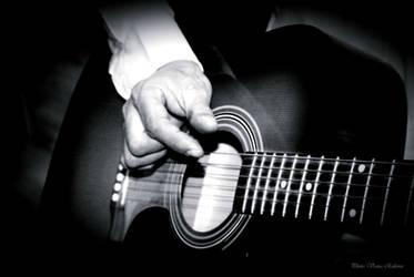 Poet and guitar by VesnaRa014