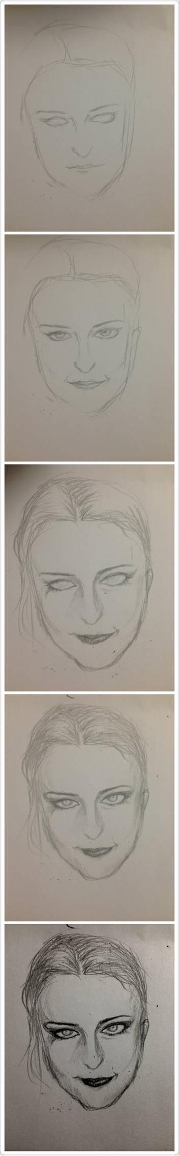 How do I draw Anne Nurmi