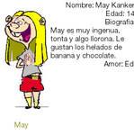 May Kanker- Bio