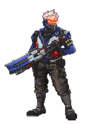 Soldier 76 - I've Got You In My Sights! by Codie-Frink