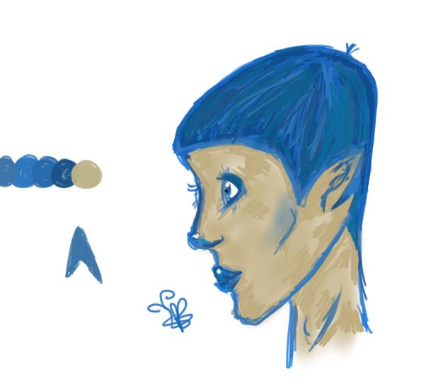 Fem Spock by ladyandtramp1