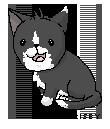 Cat Pixel by frisbii