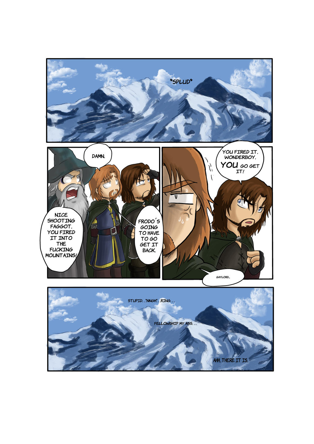 TLOTR Parody 4-8 by black3