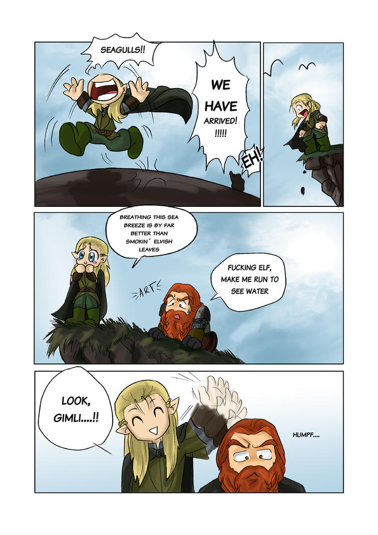 Funny Lord Of The Rings Fan Art