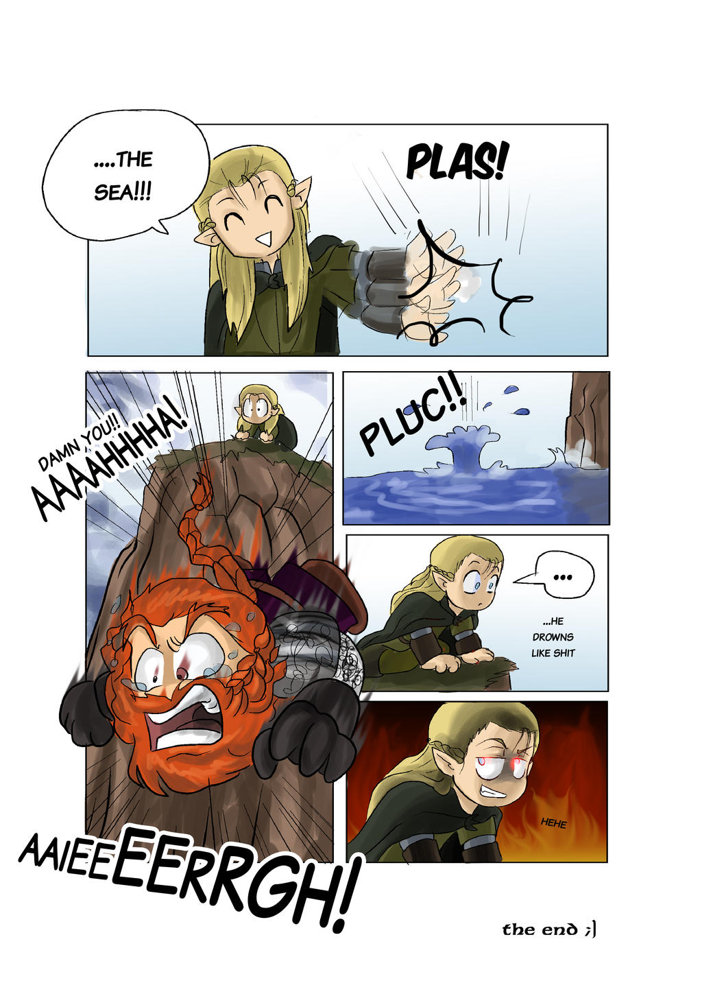 LOTR Parody 4-4 by black3