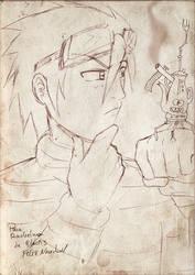 sketch 04-Rachelmon by black3