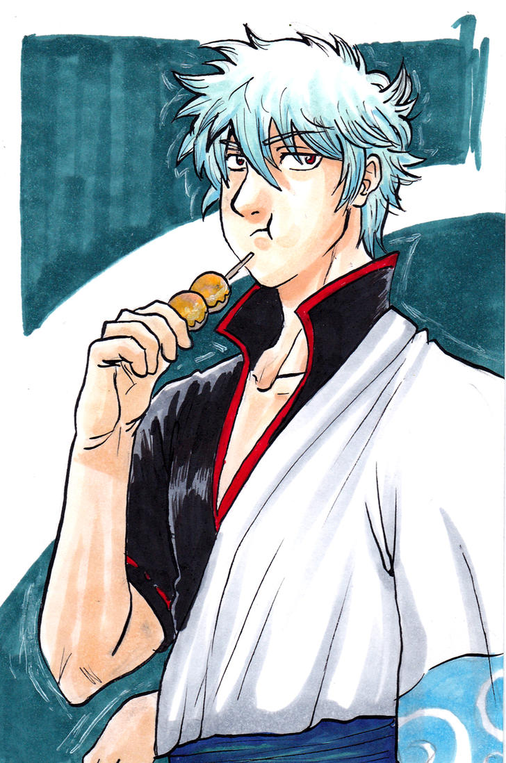 Gintoki by black3