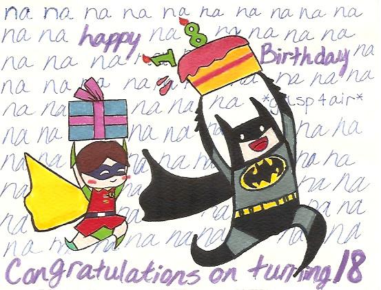 Batman birthday card by roboazn on deviantart batman birthday card by roboazn bookmarktalkfo Choice Image