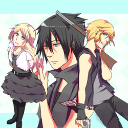 Final Fantasy XV - Favorite Characters by Chaltiere