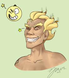 Emoji Meme- Junkrat SMILE by ZolaMun