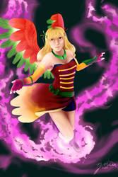 Commission- Phoenix by ZolaMun