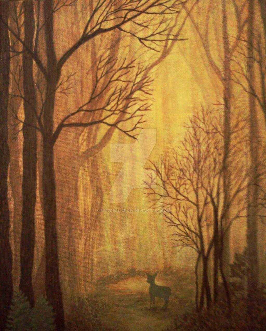 Autumn Mist by Mistress-Crow