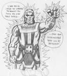 Daily Sketch 8 Kirby Brainiac