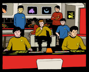 Joel Carroll Star Trek TOS quick colors
