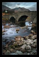 Sligachan Bridge by lucias-tears