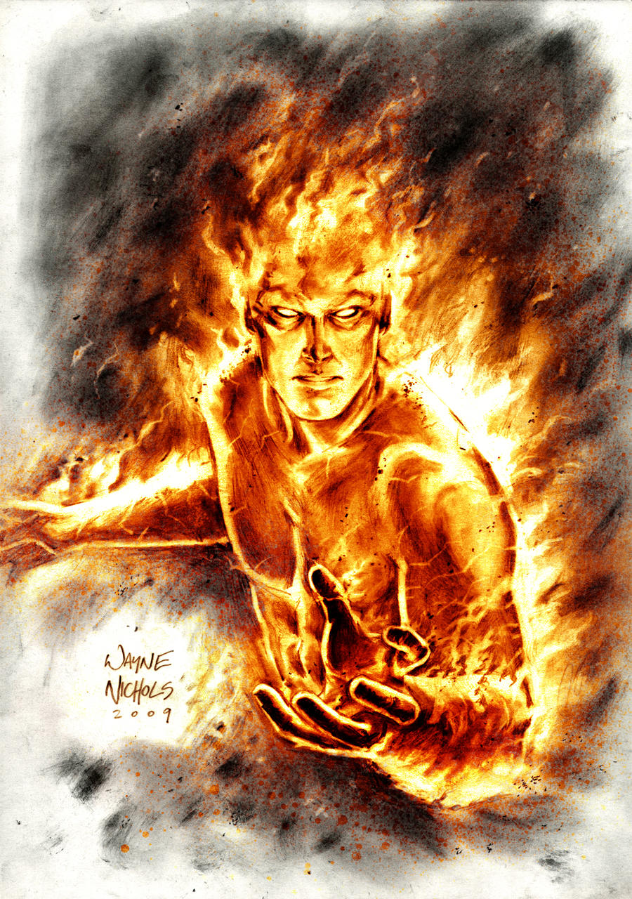 Human Torch Commission
