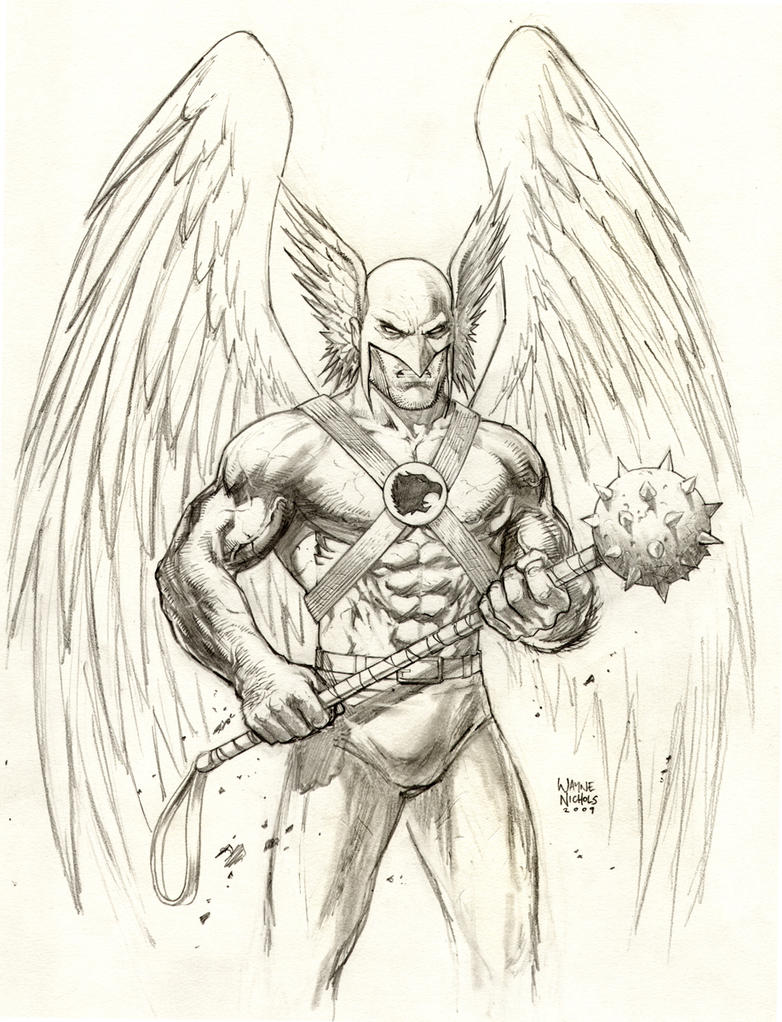 hawkman coloring pages - photo#23