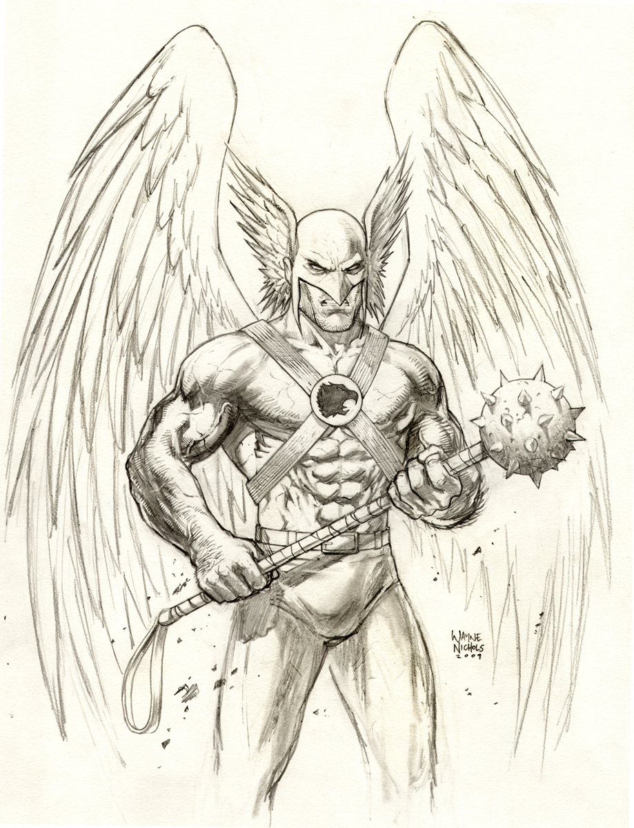 hawk guy coloring pages - photo#14