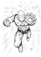 Ironman Inks by FlowComa
