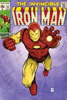 Iron man retro by FlowComa