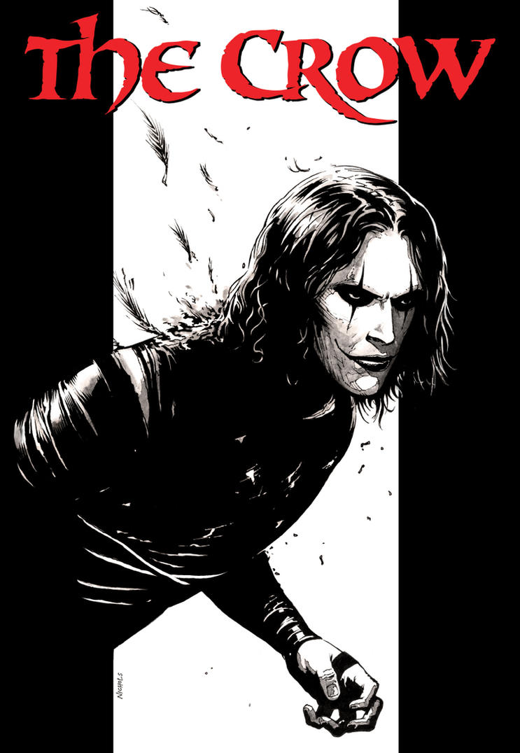 The Crow by FlowComa