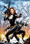 Black Widow and Wolverine