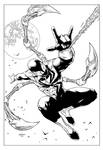 Iron Spiderman - Inks
