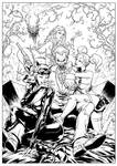Gotham City's Most Wanted - Inks