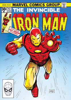 Retro Ironman cover