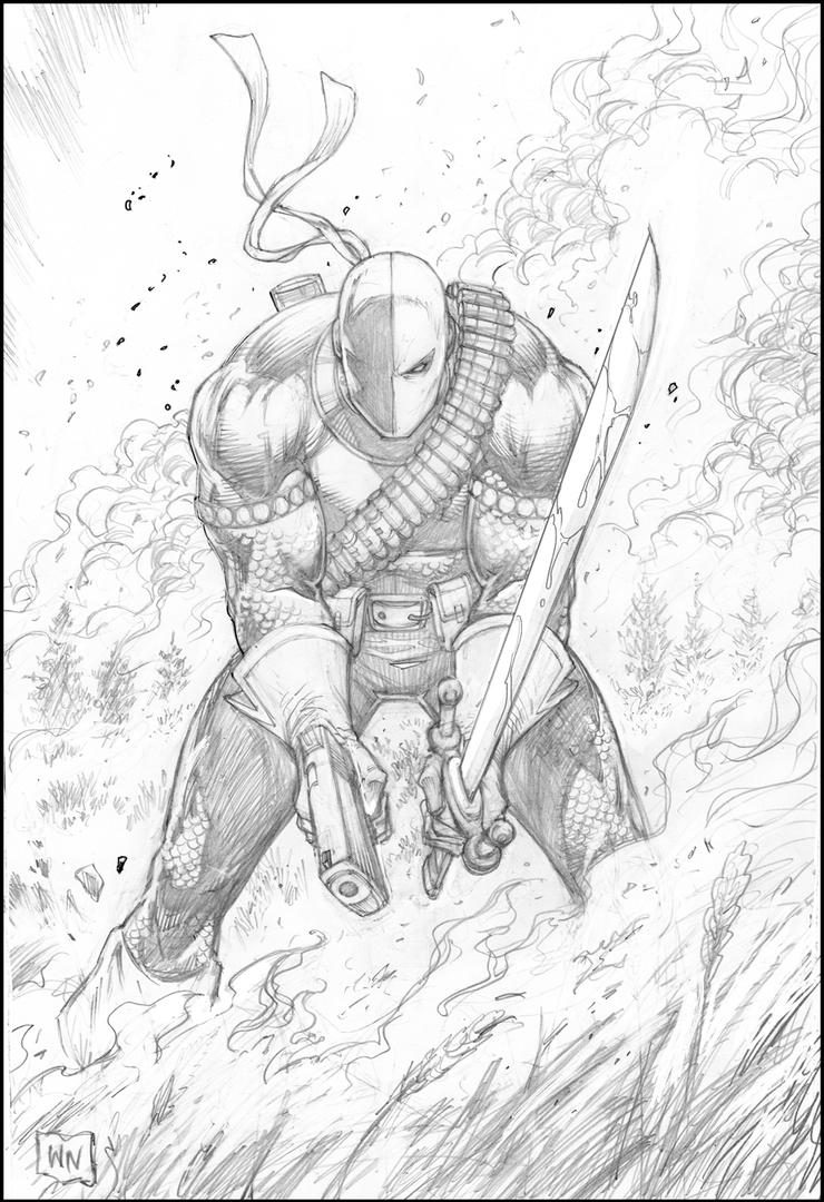 Deathstroke The Terminator by FlowComa