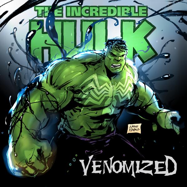 Hulk Venomized by FlowComa