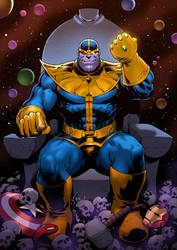 Thanos by FlowComa