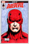 Daredevil sketch cover
