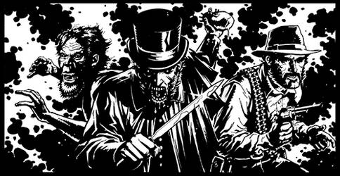 Kate Lawson Panel Inked by FlowComa