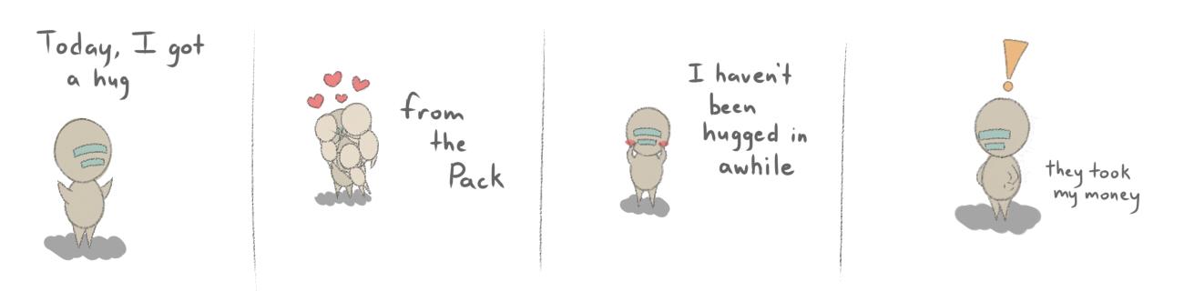 Isaac's Side Story: Hugs by Amandkyo-Su