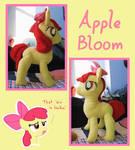Apple Bloom Plushie