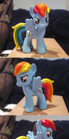 Molded Rainbow Dash Custom V2
