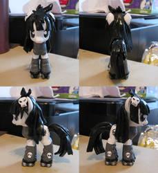 Custom Galaxy Girl Pluto Pony