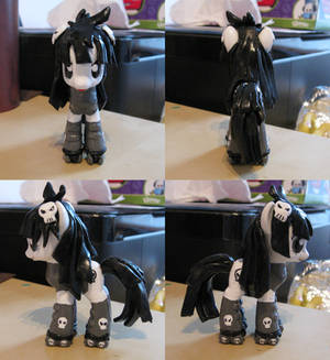 Custom Galaxy Girl Pluto Pony