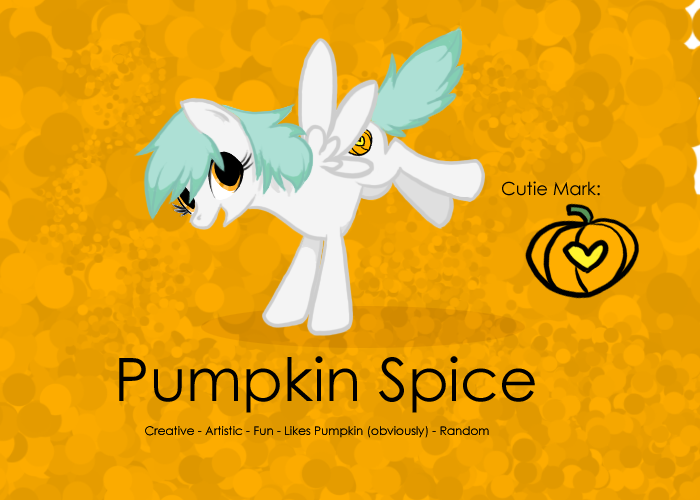 Pumpkin Spice - NOT MY ARTWORK by Amandkyo-Su