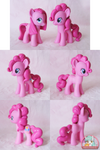 Pinkie Pie Customs with Sculpted Hair