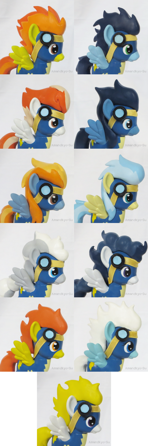 Wonderbolt Customs Headshots by Amandkyo-Su