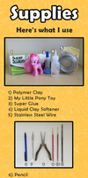 My Little Pony Custom Guide - Supplies