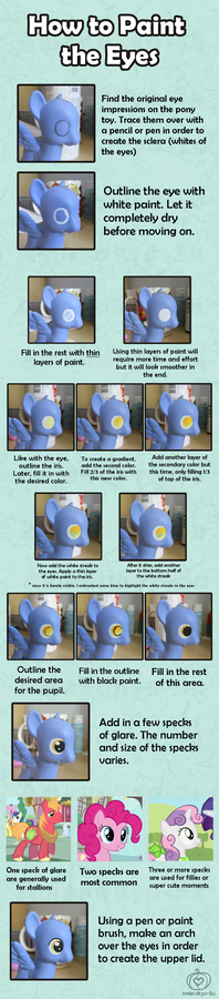 My Little Pony Custom Guide - The Eyes