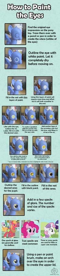 My Little Pony Custom Guide - The Eyes