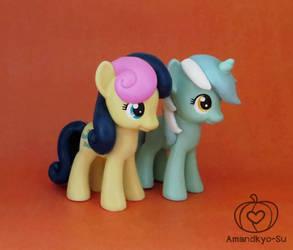 Lyra and Bon Bon by Amandkyo-Su