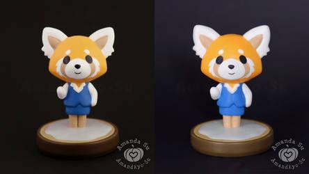 Retsuko Custom Amiibo, New VS Old
